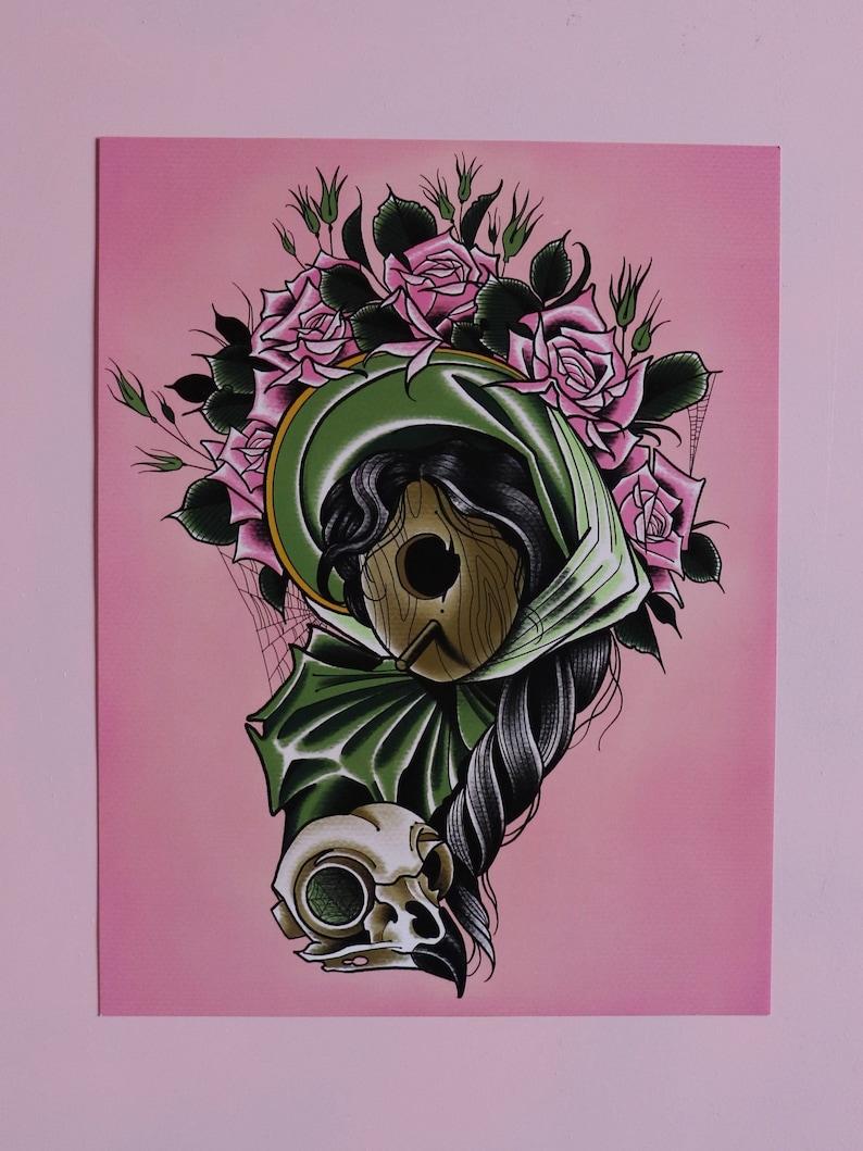 PRINT-Lady Bird House image 0