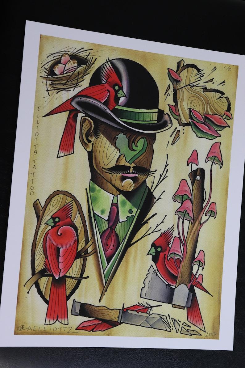 PRINT-Cardinals Sheet image 0