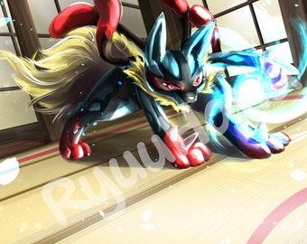 Pokemon Mega Mysdibule Etsy