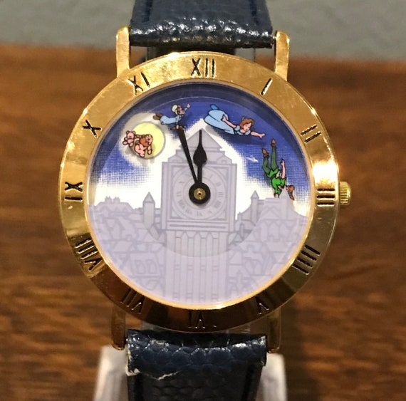 1990's Pedra Limited Edition Peter Pan Watch- Vin… - image 1