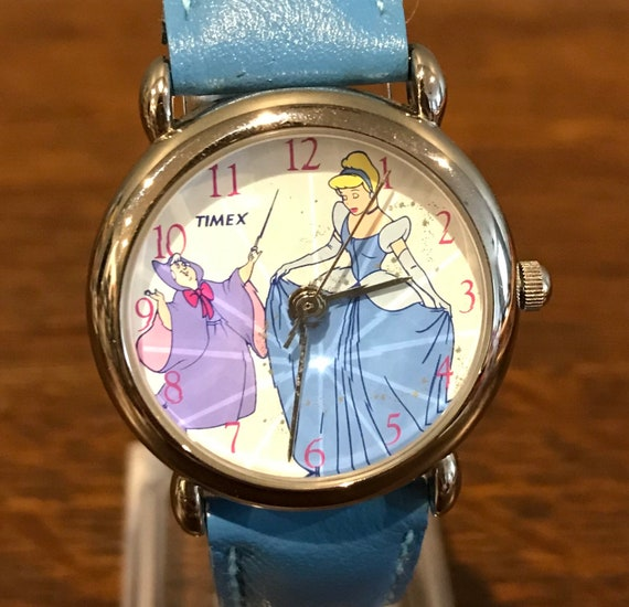 1990's Timex Disney Cinderella and Fairy Godmother