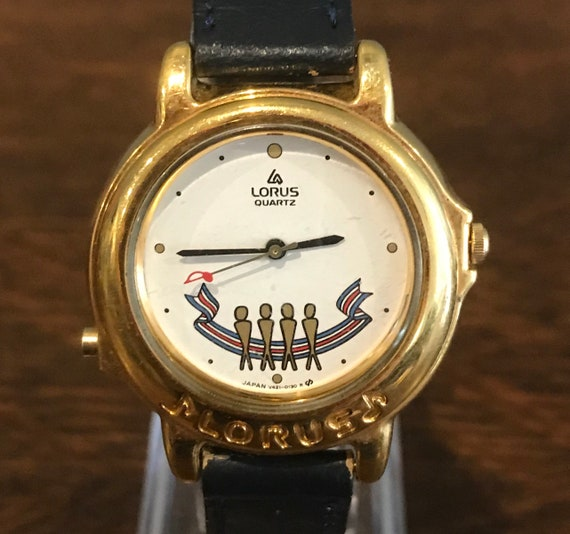 1990's Lorus Beatles Yesterday Misical Watch- Vint