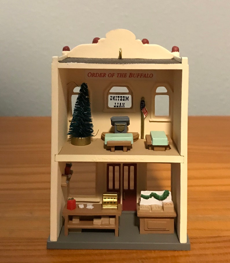 1992 Hallmark Five-and-Ten-Cent Store Ornament Ninth in the Hallmark Nostalgic Houses and Shops Series