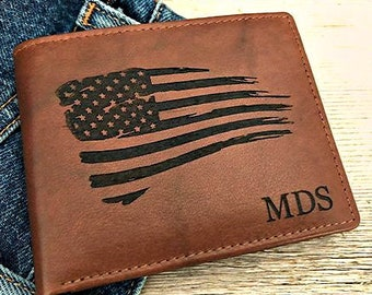 Personalized Engraving Included Flag of Palestine Money Clip Wallet