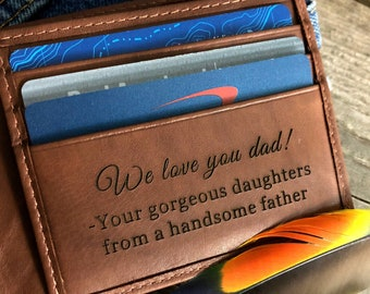 Gift For My Dad O Fathers Day Birthday Wallet Toffee 7751