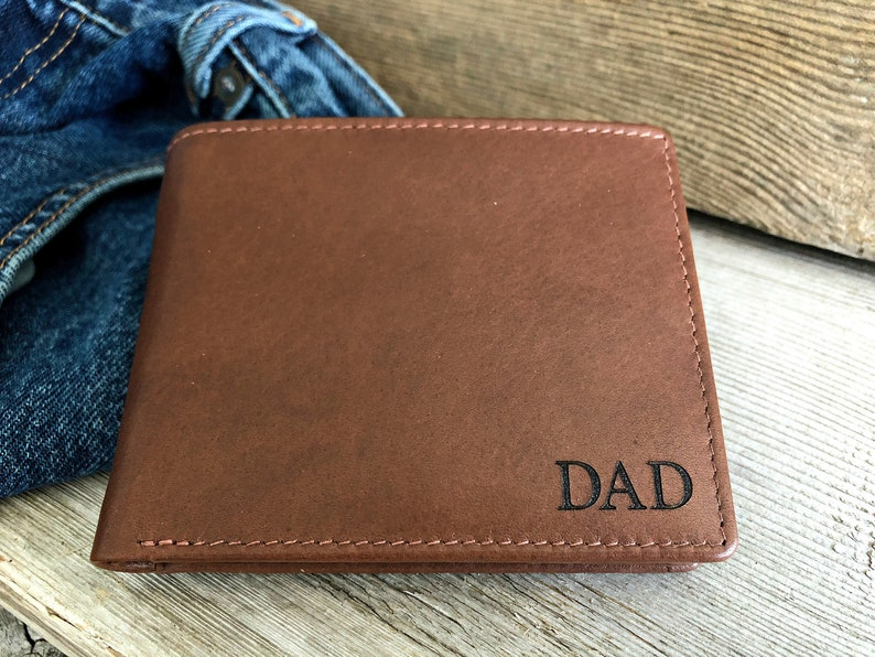 05d3f84dec4 Father's day gift from son • engraved wallet • personalized gift for dad,  monogrammed wallet • Fathers day gift • Toffee 7751+