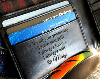 Custom leather wallet • Personalized leather wallet • black leather wallet • personalized wallet • Anniversary gift for man Black 7751 >