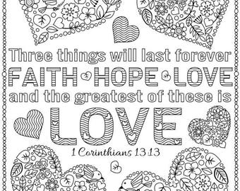 Coloring Page - God's love has no limits. | Love coloring pages ... | 270x340