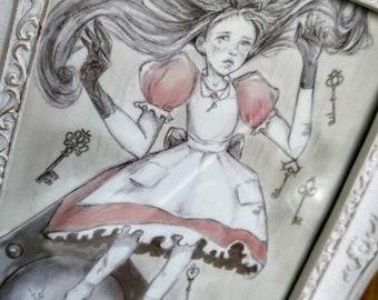 Alice in Wonderland - print (5x7)