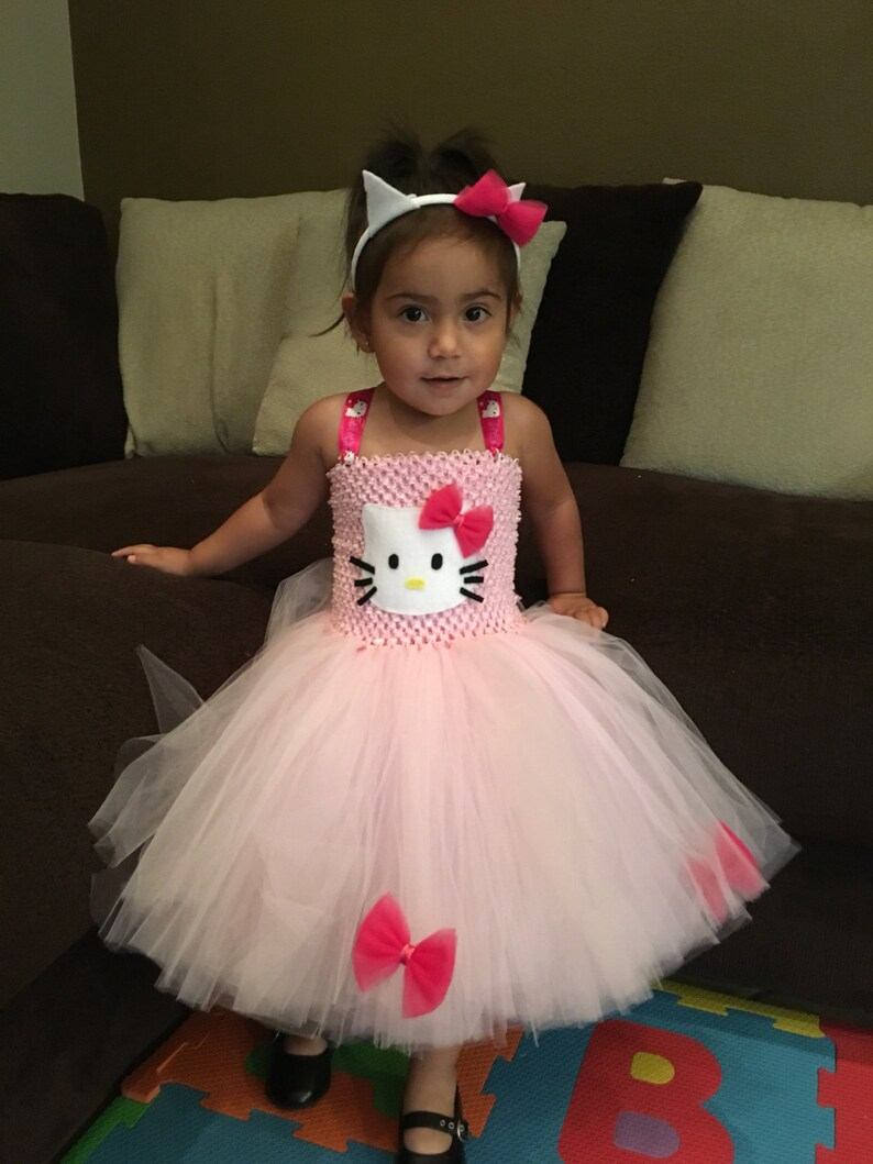 5e6f41dd5 Hello Kitty Inspried Tutu/Hello Kitty Halloween Costume/Hello | Etsy