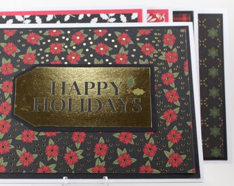 Happy Holidays Christmas Five Pack Assortment