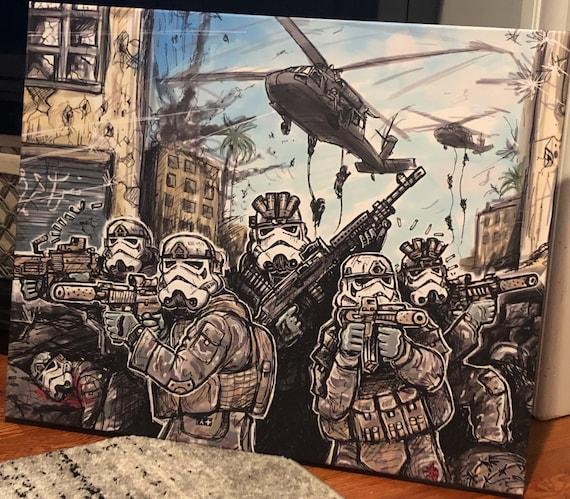Hot LZ    30x40 art canvas