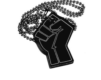 Black Lives Matter (BLM) pendant