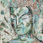 Brown Bag Buddha #22 Art Prints ~Giclee,Zen Home Decor,Buddhist Art,Buddha Decor,Yoga Art,House Gift,Zen Art,Spiritual art,Inspirational Art