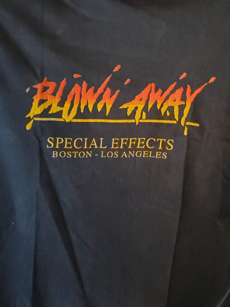 BLOWN AWAY *1994 Movie* Boston Police Bomb Squad* Vintage Crew Shirt-Authentic-Movie Swag