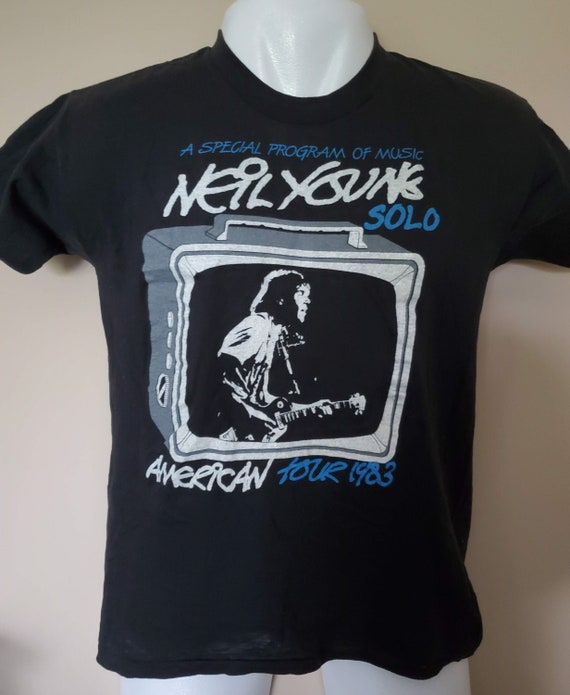 NEIL YOUNG *Solo Winter American Tour 1983* Vintag
