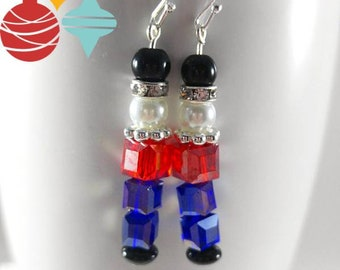 1bf6b849e Toy Soldier Christmas Earrings, Christmas Soldier Earrings, Holiday Soldier  Earrings, Toy Soldier Earrings, Nutcracker Toy Soldier Earrings