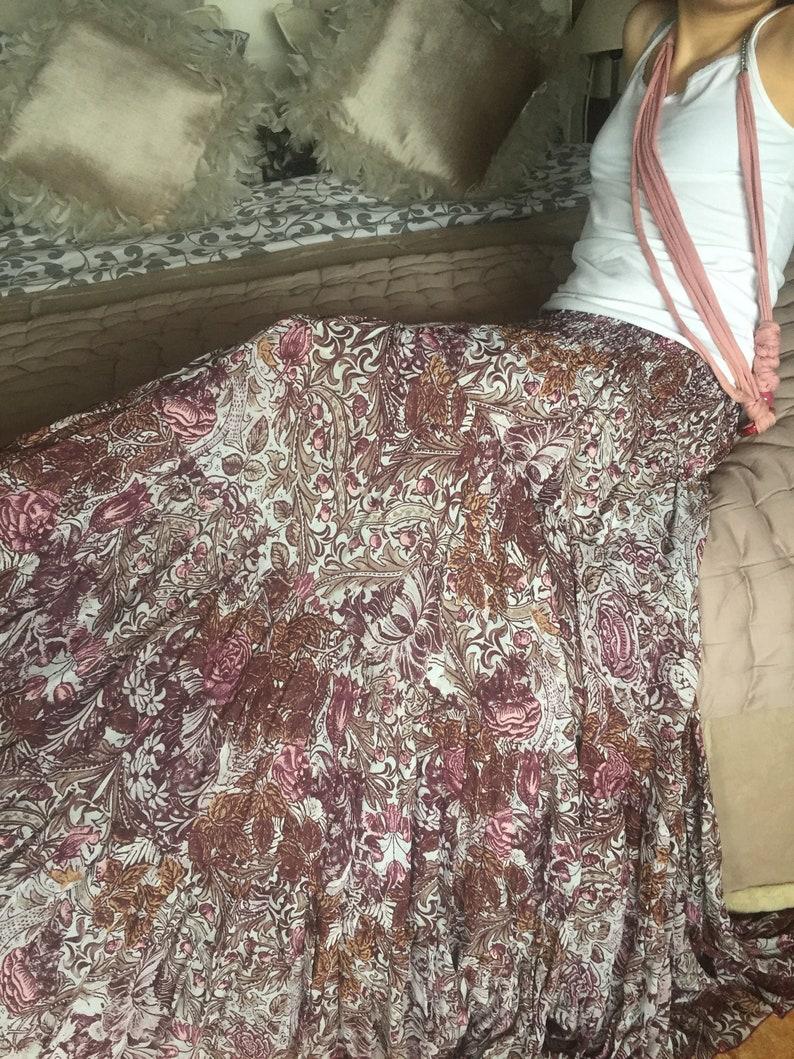 GARNET long skirt