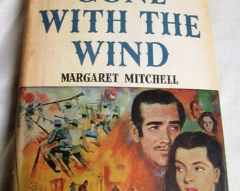 Gone  With The Wind -1964 - by Margaret Mitchell- Book Club Edition- Hardback with Dust Cover- Damage to Dust Cover-Greatest best-seller