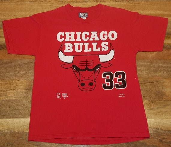 Chicago Bulls Scottie Pippen Nutmeg T-Shirt