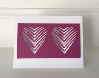 Two Purple Hearts