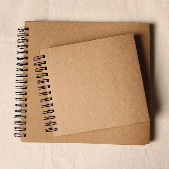 Scrapbook Album Kraft Scrapbook Blank Scrapbook Kraft Photo Etsy