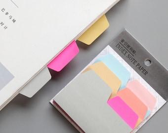Index sticky notes