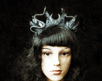 medusa crystal crown
