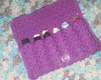 Purple Clover - 6 Essential Oil Roller Bottle Case