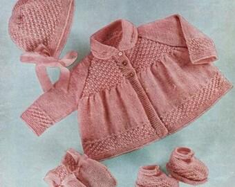 12cf1ae75fb7 Knitted matinee set