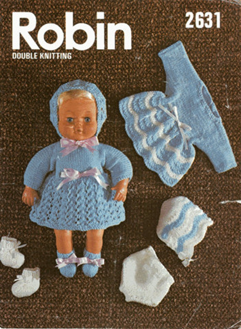 11e7e01fce23 Instant Digital Download pdf Vintage Knitting Pattern for