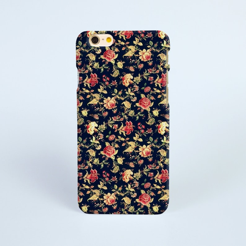 black floral iphone 8 case