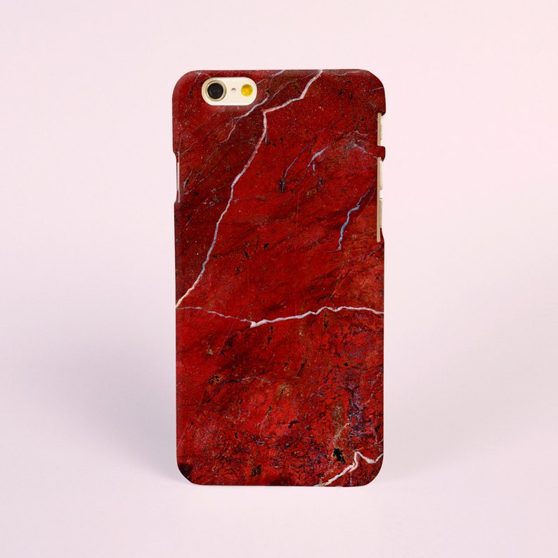 outlet store e69e1 d001b Marble iPhone 8 case, iPhone X case, iPhone 7 plus case, iPhone 6s case,  tough case, Red Marble Samsung Galaxy S8 Case, Samsung Galaxy Case