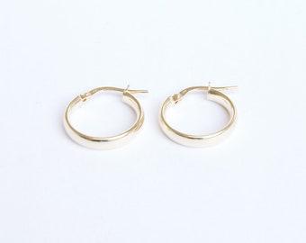 229fdca10 9ct gold - creole hoop earrings - creole hoop - gold hoop earring - gold  hoop - 9ct gold hoops - gold hoops - gold creole -L1-CR-5910-12-14