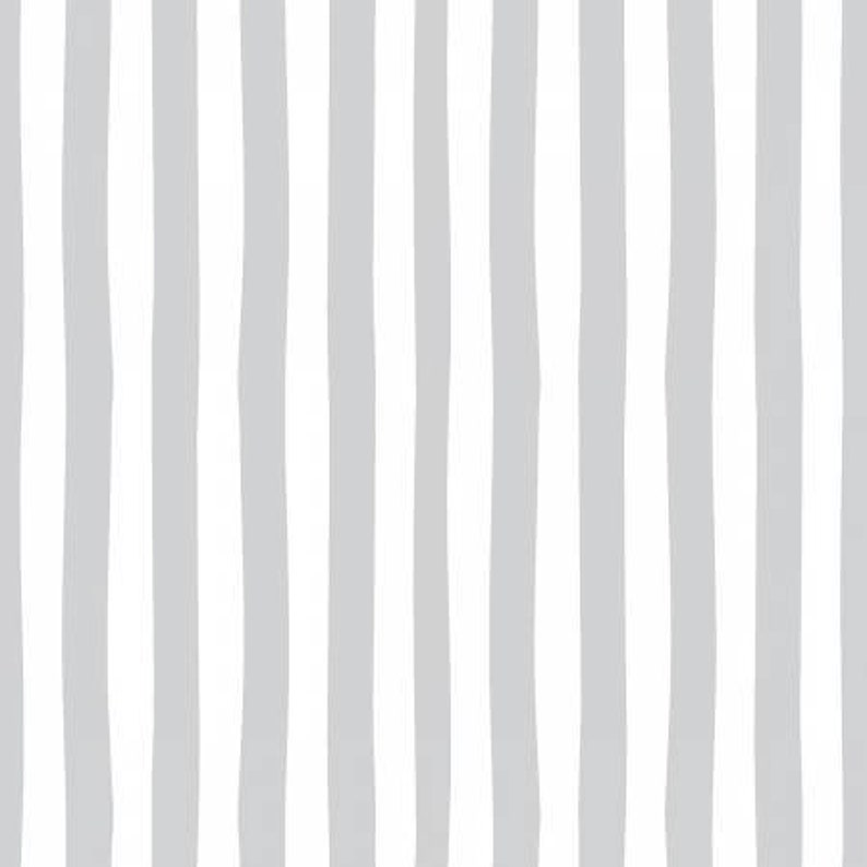 Cotton fabric Riley Blake Love story gray stripes geometric lines gray white stripes websters pages collection