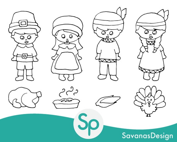 Items Similar To Thanksgiving Clipart, Thanksgiving