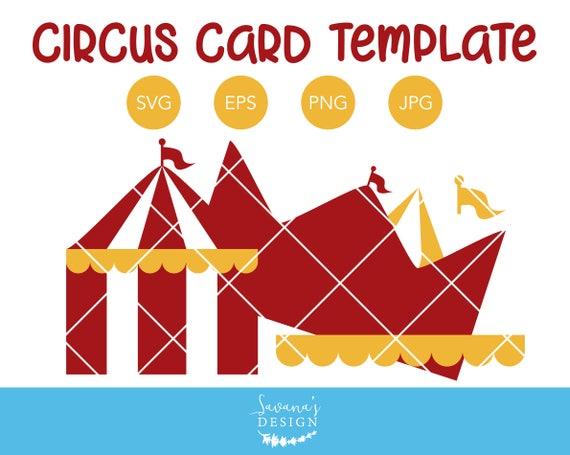 Circus tent invitation template circus svg circus card birthday circus tent invitation template circus svg circus card birthday party svg circus tent svg invitation svg template svg card svg from savanasdesign on stopboris Images