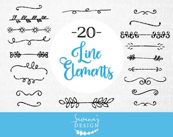 SVG flourish, divider clipart, svg line, svg banner, svg border, illustrator elements, digital ornamental design, flourish ornament