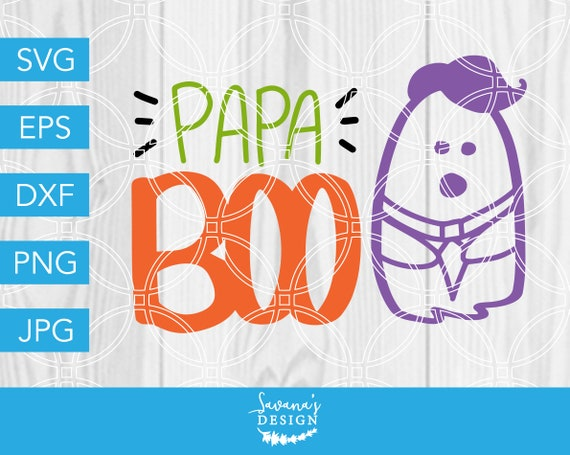 Papa Boo SVG, Papa SVG, Boo SVG, Dad Svg, Halloween Svg