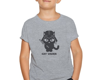 Cat Vader T-Shirt for Kids