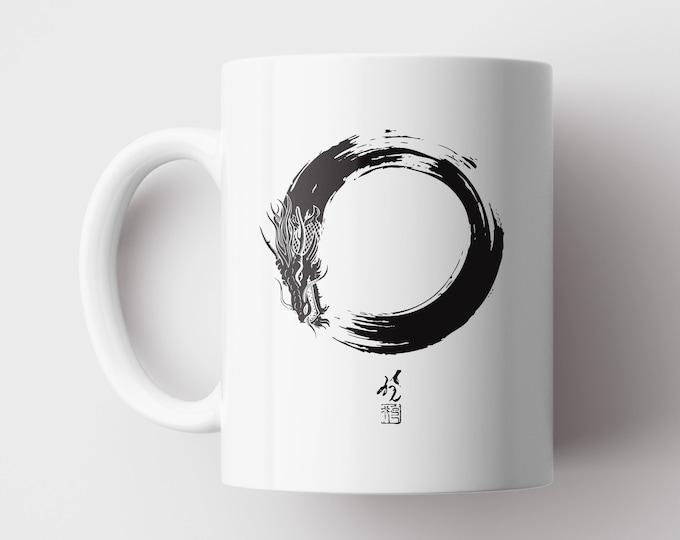 Enso Dragon Mug