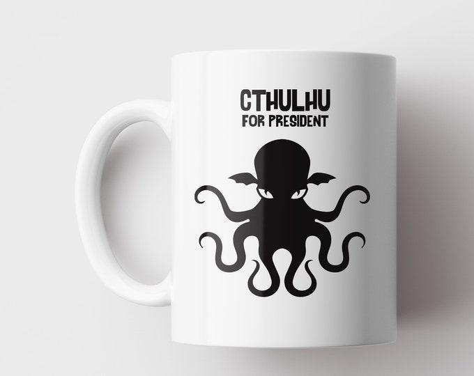 Cthulhu For President Mug