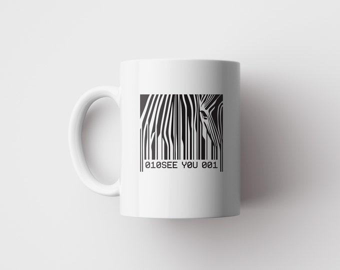 Barcode Zebra Mug