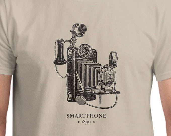 Smartphone T-Shirt, Unisex