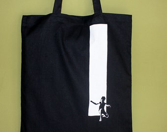 Out of The Box Tote Bag, Long Handles