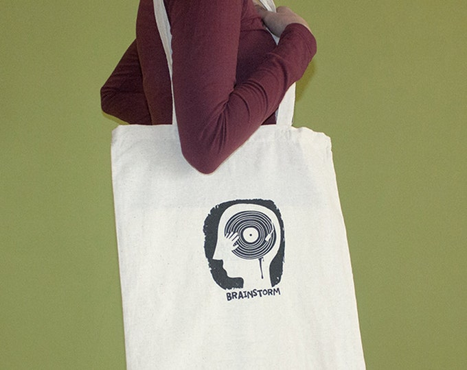 Brainstorm Tote Bag, Long Handles