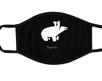 Bipolar Bear Face Mask