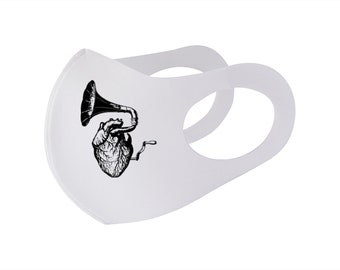 Music Heart cFae Mask