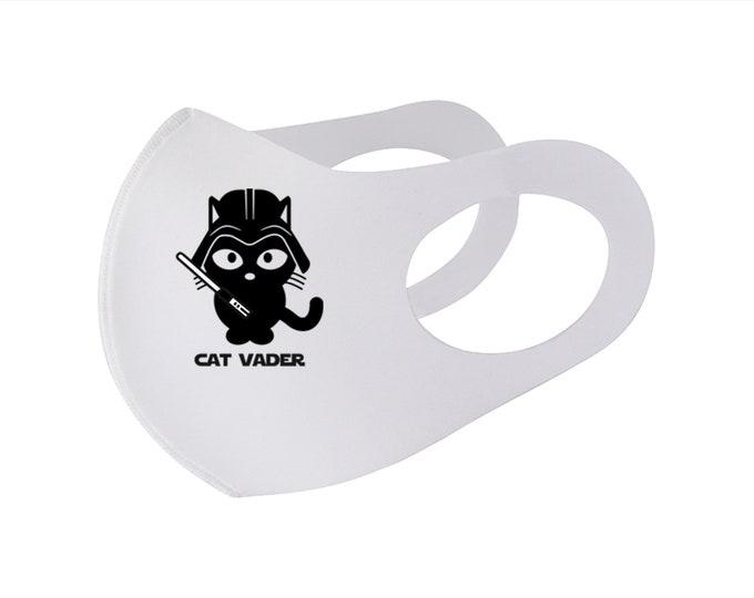 Cat Vader Face Mask