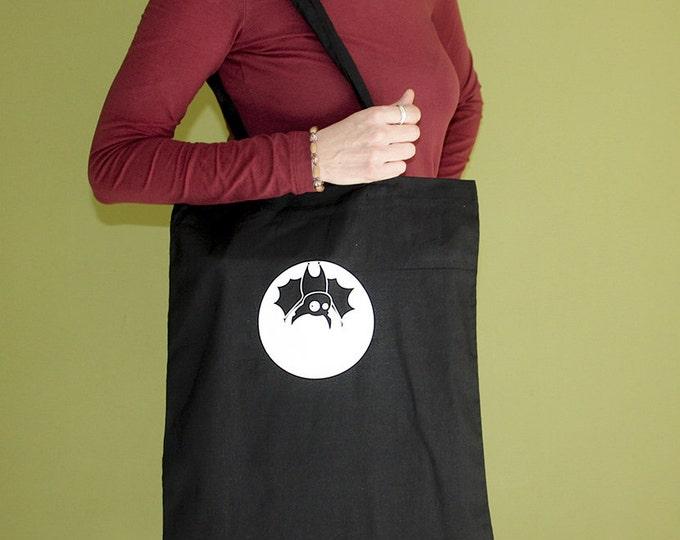 Bat Tote Bag, Long Handles